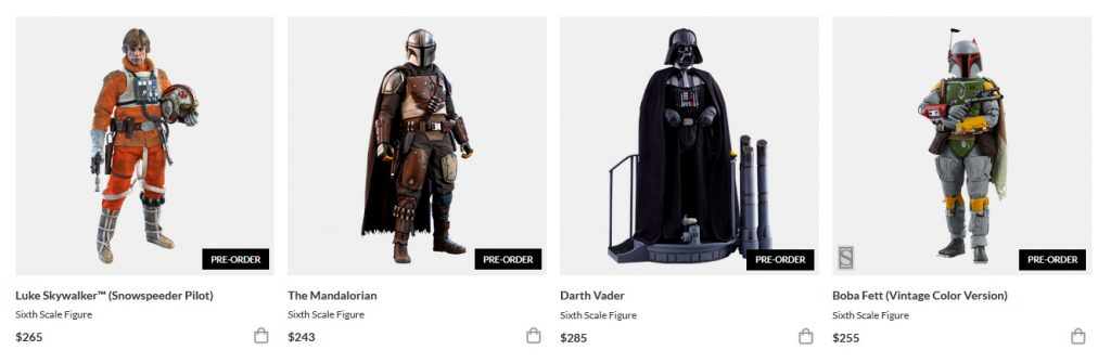 Sixth-Scale Star Wars Figures for sale