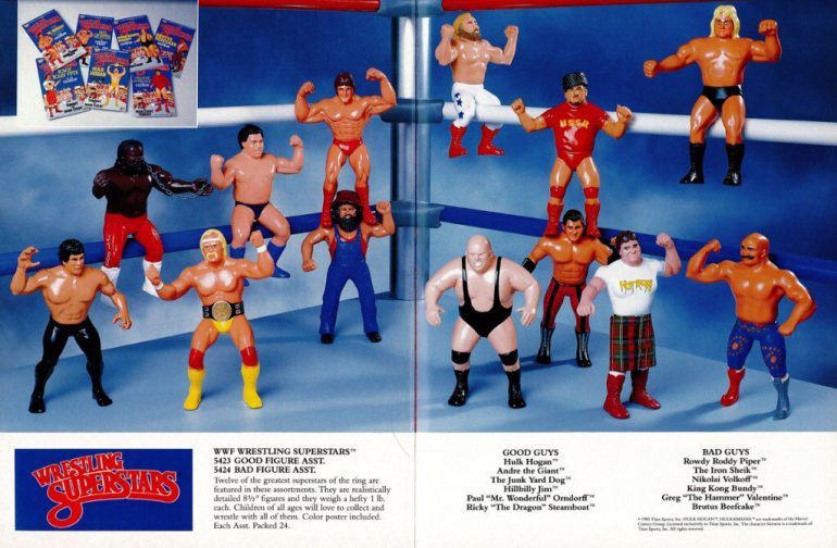 WWF LJN Wrestling Superstars