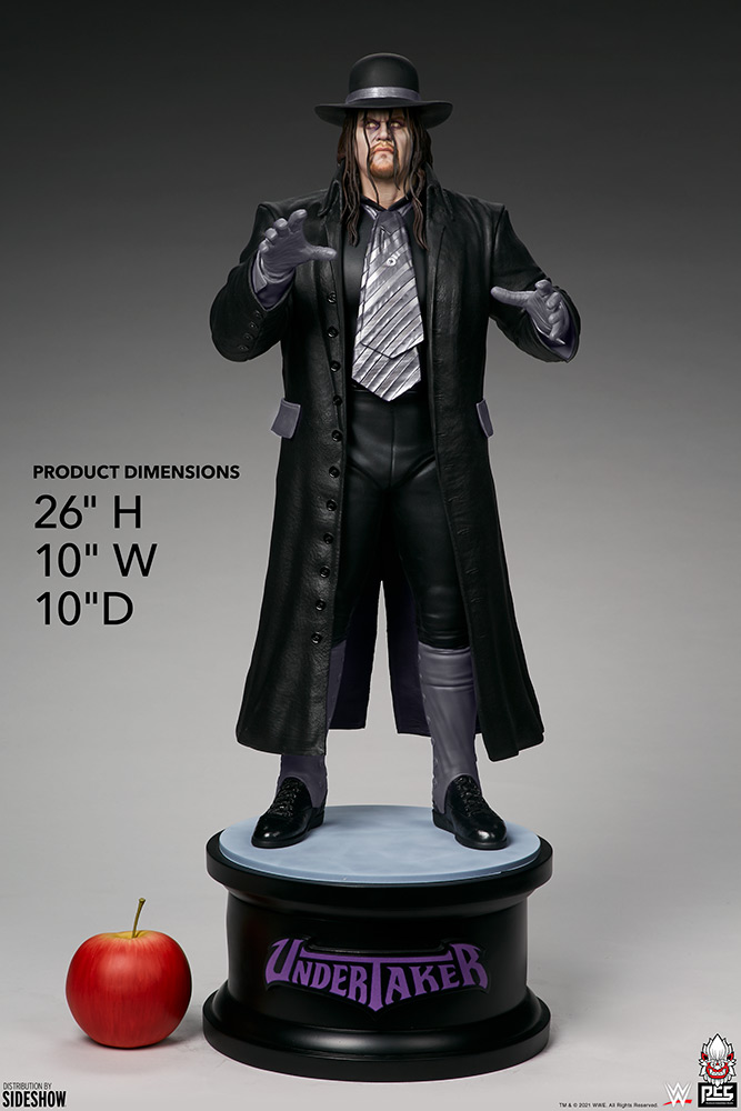 the undertaker doll scale